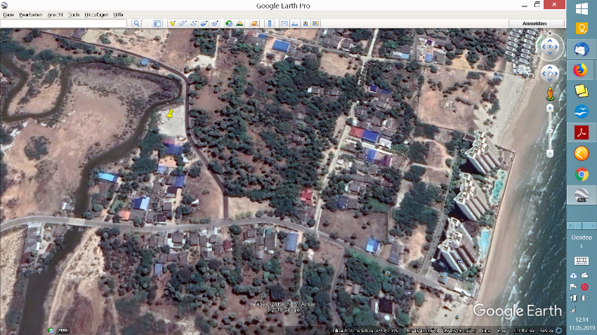 LAND FOR SALE, CHA AM NORTH, appr. 200 TW near Beach, PRICE 24000 p.TW