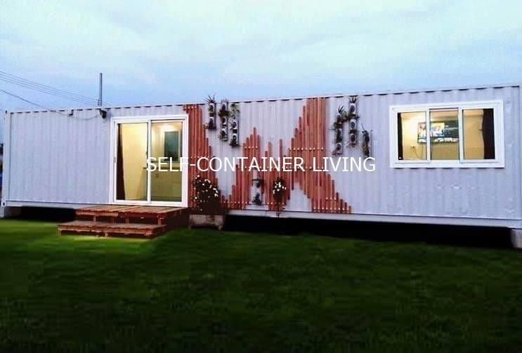 Qulity container house บ้านคอนเทนเนอร์ขนาดใหญ่ 40 ฟุตพร้อมเข้าอยู่