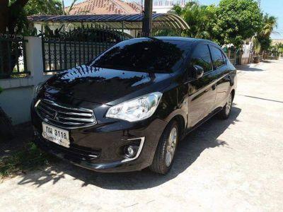 For rent in Hua Hin Mitsubishi Attrage eco car top model