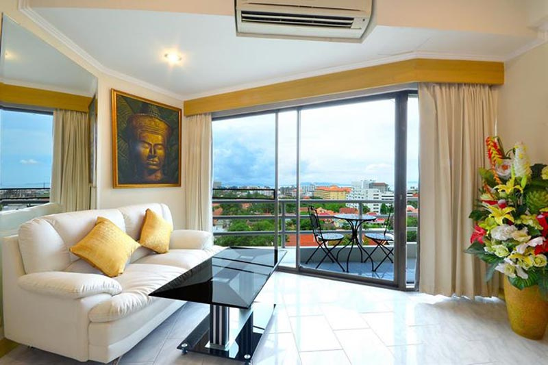 Stunning View Talay 2 Studio For Rent