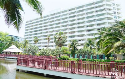 Palm Pavilion 2 bedroom condo with ocean view