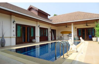 3 Bedroom Pool Villa with guesthouse at Hillside Hamlet 3