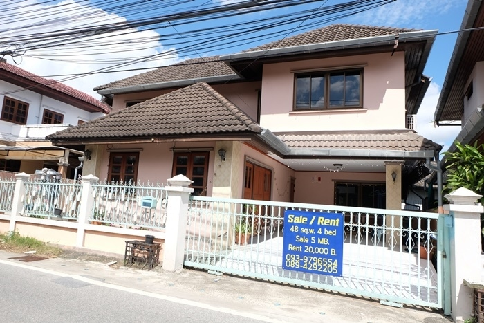 A single house with renter close to Maya Shopping Mall