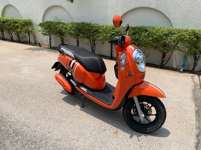 Honda Scoopy with 1300 KM