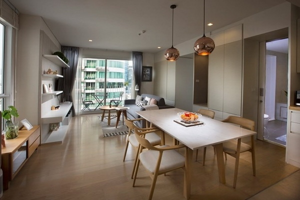 (เช่า) FOR RENT HQ THONGLOR BY SANSIRI / 1 bedroom / 52 Sqm.**55,000**