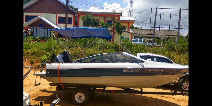 American made boat bayliner capri  140 power