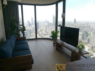 Ashton Chula Silom Ultra Luxury Condo Very High Floor 2 Bedroom Corner