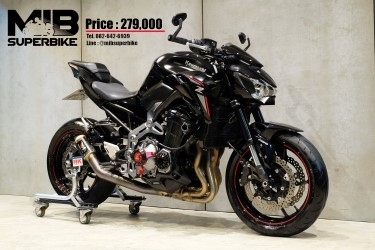 [ For Sale ] Kawasaki Z900 2018 with other accesories.