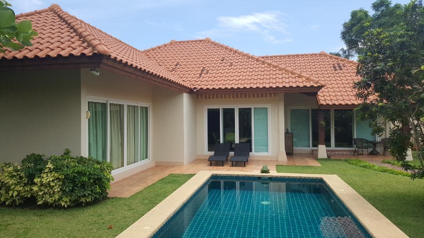 Huay Yai Ban Balina - Well presented 208sqm improved modern villa