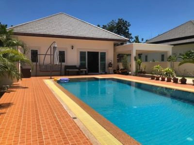 Good Quality 3 Bed Pool Villa