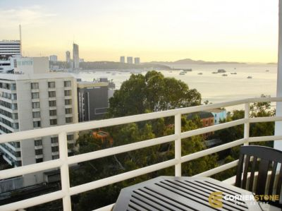 #CR900  Sea Views Condo In View Talay 6 For Rent @ Pattaya City