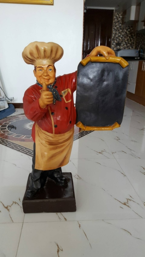 Waiter Figurine