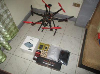 Drone large S550 hexacopter
