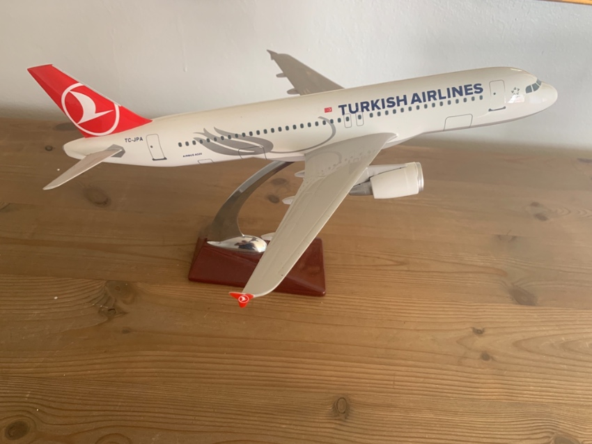 Turkish Airlines Model Plane