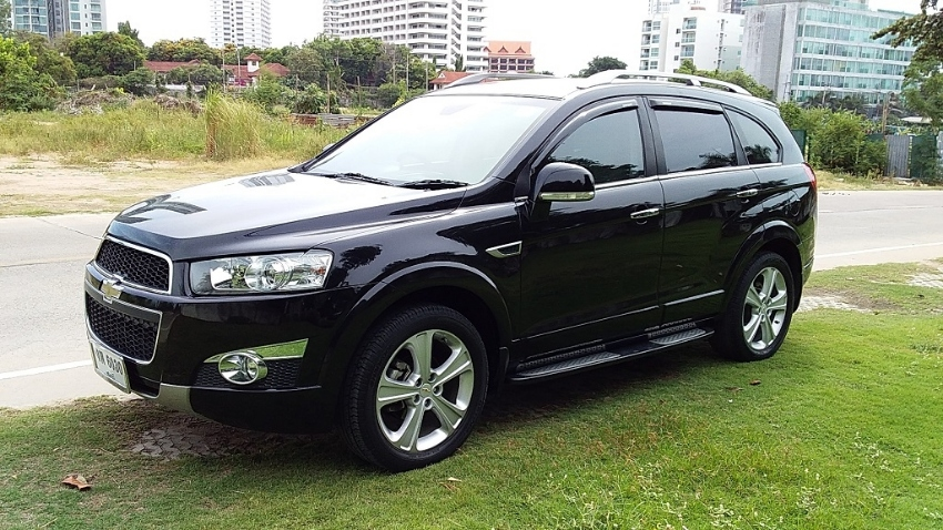 Chevrolet Captiva 2012 4WD Top Model