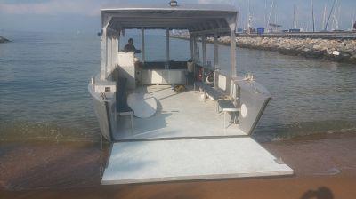 8.5 metre Aluminium Catamaran/ Landing Craft For Sale - 2016 Model