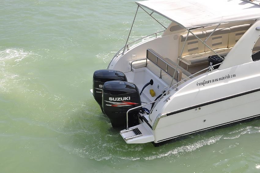 speedboat 2*250hp Seat boat sb369 for sale
