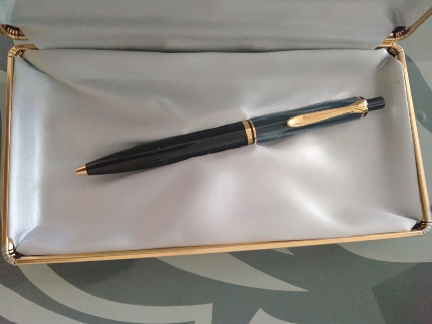 Rare 24carat Gold Plated Pelikan Pen