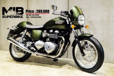[ For Sale ] Triumph Thruxton 900 2016 good condition at very valueble