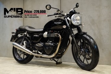 [ For Sale ] Triumph Street Twin 2015 good condition at very valueble