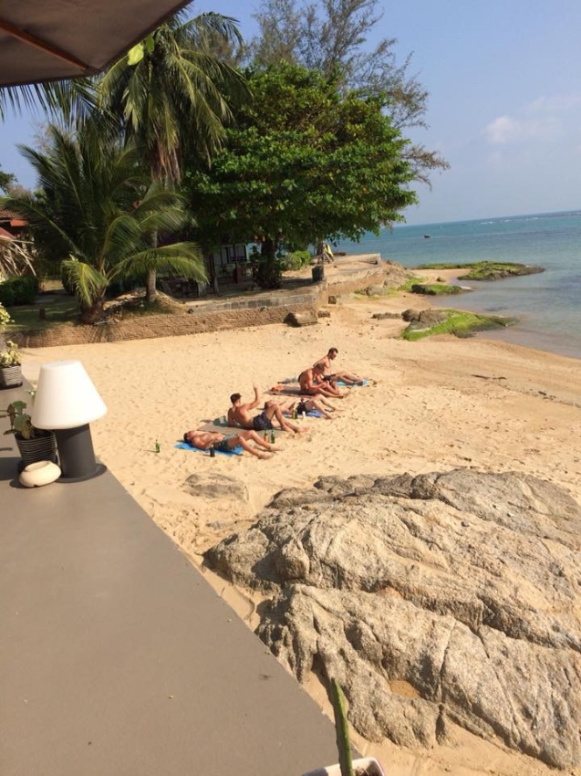 Top rated Beach Hostel and Bar/Restaurant for sale in Koh Samui