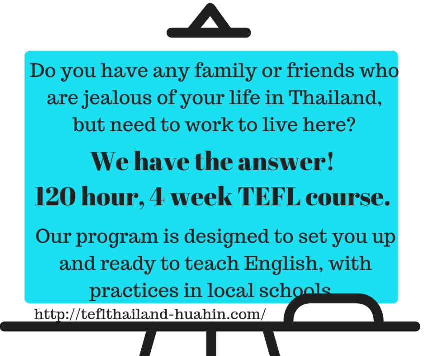 Need a new life adventure, Teach English in Thailand
