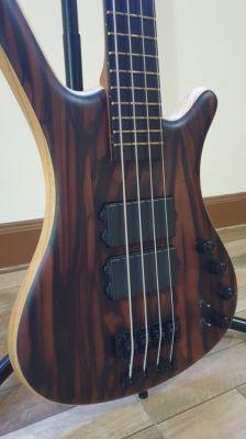 Bass & Amp - Warwick Custom Germany + TC Electronic Rebelhead Amp/Cab