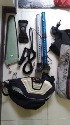 Windsurf Kit Sale - Board/2 masts/3 sails and all equipment
