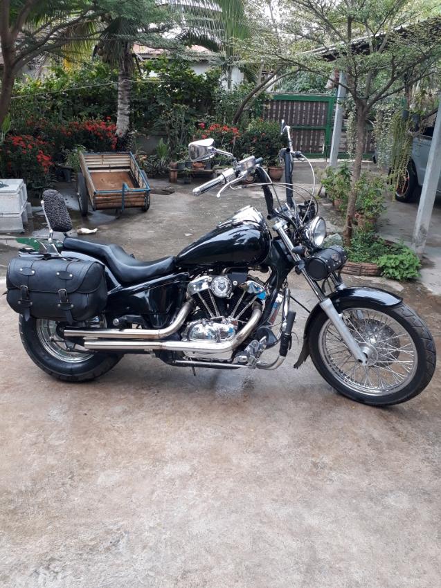 harley look 400cc steed