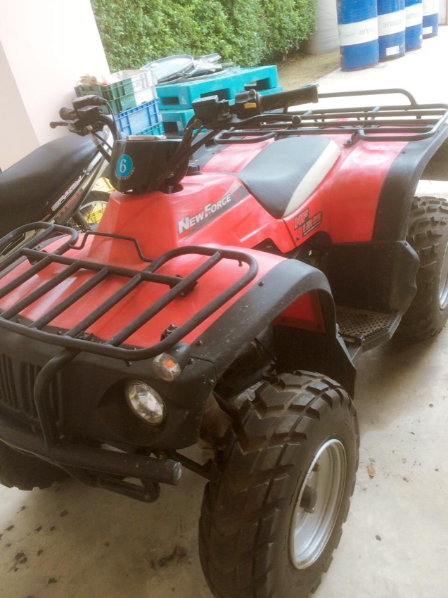 ATV 4 wheel bike for sale very good condition resion for sale move hom