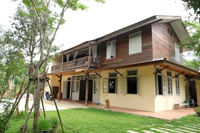 Thai Style house good for residence business, Chiang Mai.