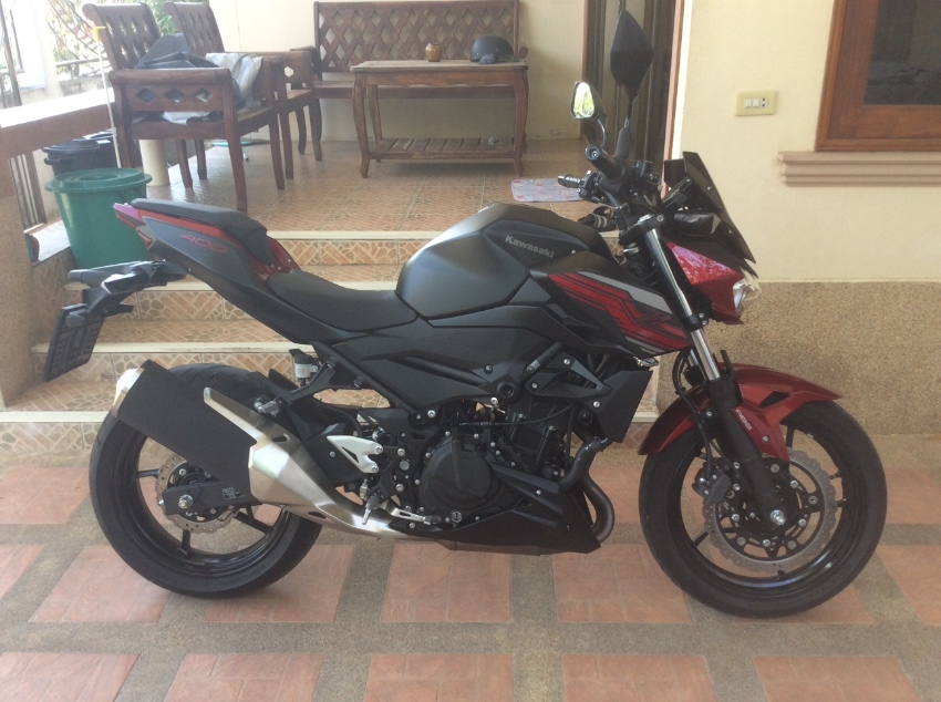 kawasaki z 400 for sale