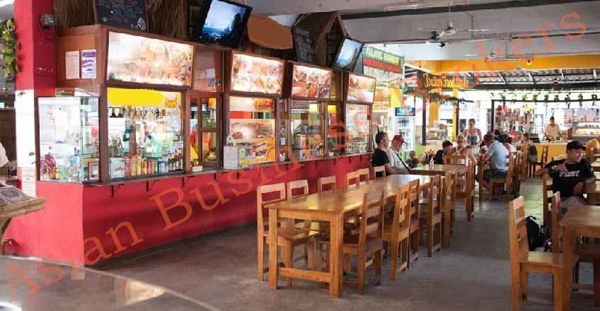 6705005 Kitchen/Restaurant in 150 Seat Food Market in Koh Phangan