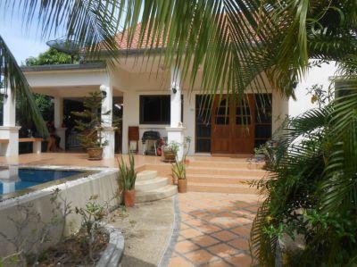 Tropical garden village pool villa north Hua Hin