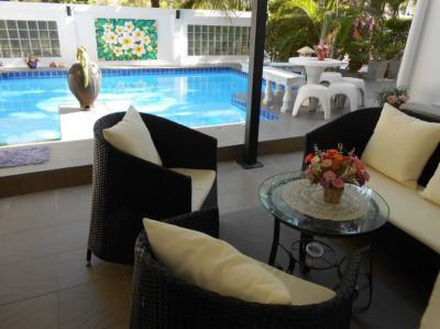 Chantha garden Pool villa north Hua Hin
