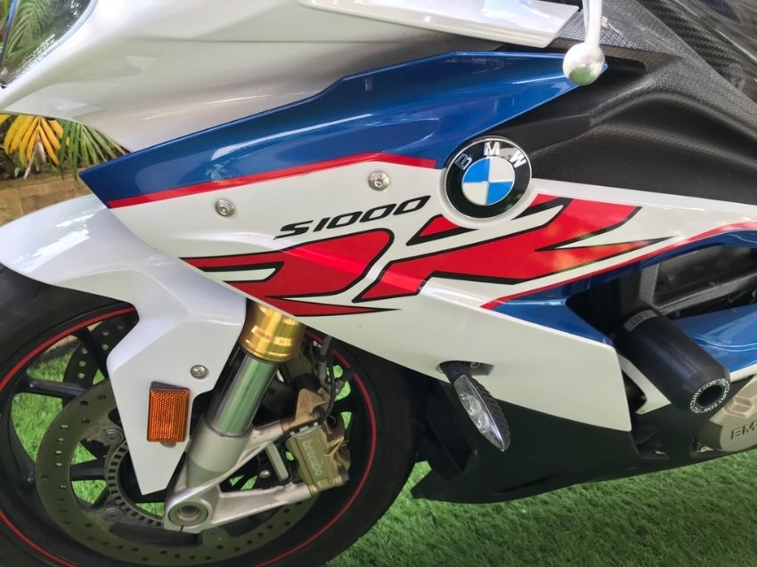 BMW 2017 S1000RR Only 4,900 km. As NEW Condition