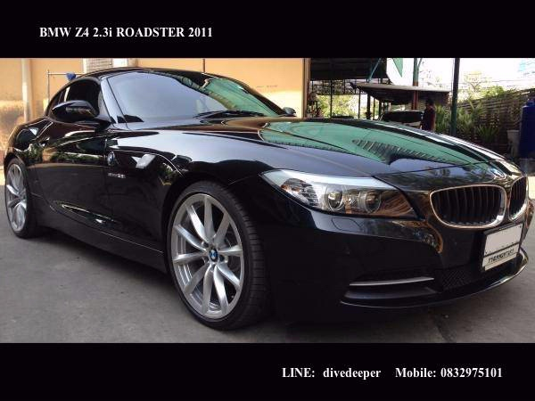 2011 BMW Z4 2.3i E89 Roadster, Sapphire Black, Luxury Cream Interior