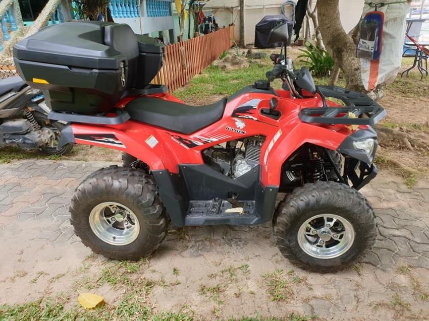 ATV, K-Lion 200c