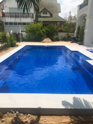 Newly 8m Centurion Pool Installed in Jomtien