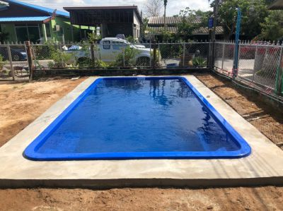 Newly Installed 6m Emperor Fiberglass Pool in Bang Chang