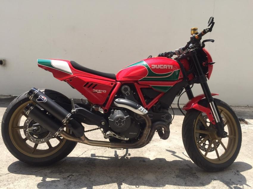 Hot Sale Ducati Scrambler Special Edition Mike Hailwood