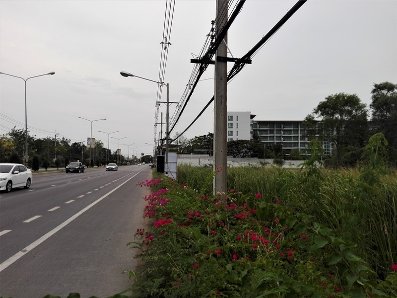 Hua Hin North 150 TW (600sqm.) 21 Meters Petchkasem Road Frontage