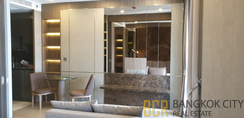 Ashton Asoke Ultra Luxury Condo Never Lived In 1 Bedroom Unit for Rent