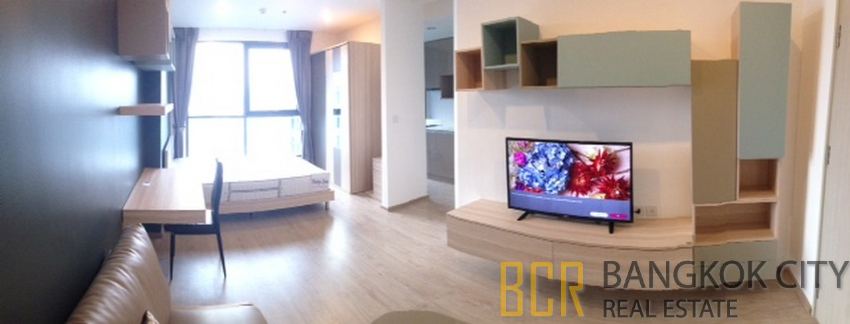 Ideo Q Chula Samyan Ultra Luxury Condo High Floor Studio for Sale