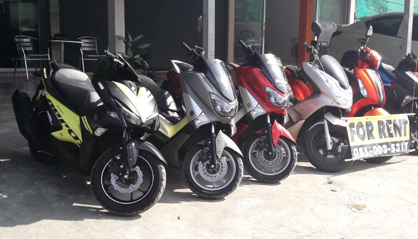 RENT PCX-Nmax-Aerox only 3000 / Month-many Colors