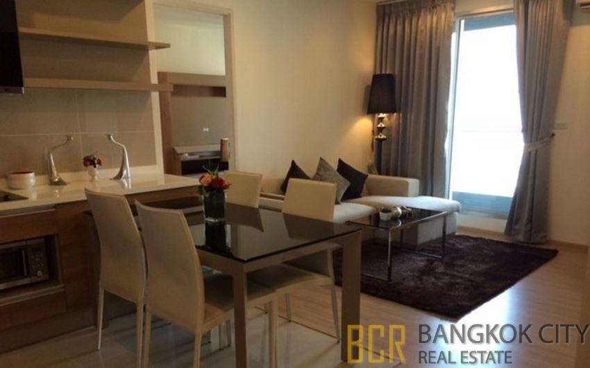 Rhythm Sukhumvit 50 Luxury Condo High Floor 2 Bedroom Unit for Rent