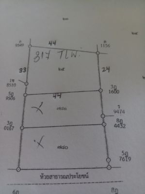 A GREAT STAND-ALONE, WALLED PLOT FOR YOUR HOME, GOOD HUAY YAI LOCATION