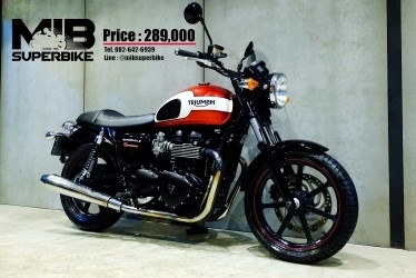 [ For Sale ] Triumph Bonneville New Church 2016 good condition at very