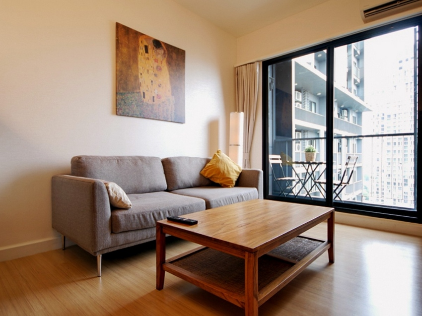 Rent Condo+The Seen Mingle Sathorn+25F+1 Bed
