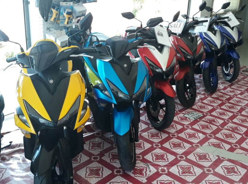 155cc bikes rent start 2.550 ฿/M (6 Month contract paid in 1 time)
